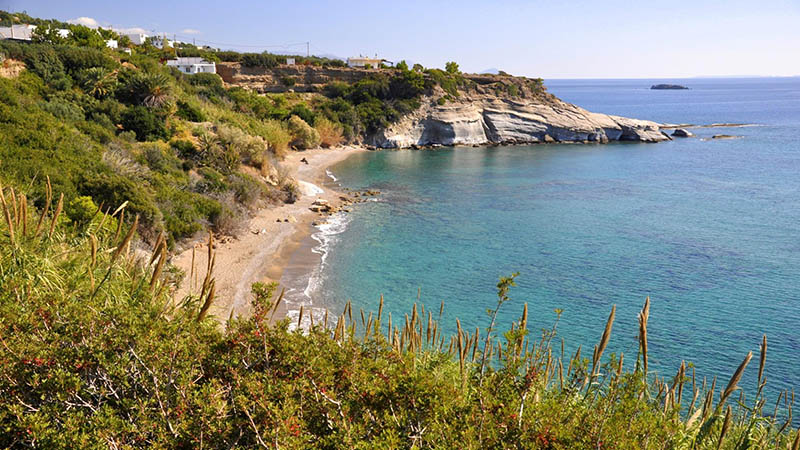 Livadi Beach in Ferma