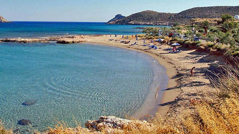Katovigli / Lagkoufa Beach in Makry Gialos