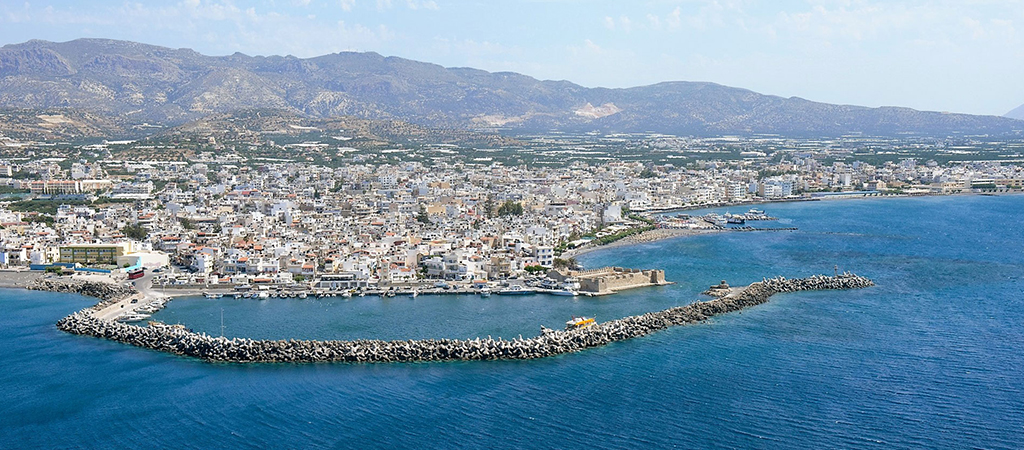 Panoramic view of Ierapetra