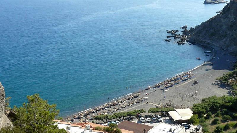 Agia Fotia Beach